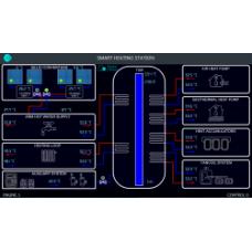 Интеллектуальный тепловой пункт на базе программируемого контроллера ОВЕН ПЛК110 [М02]