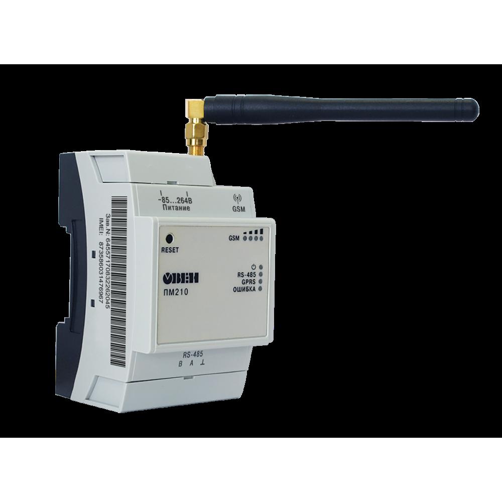 ПМ210 сетевой шлюз для доступа к сервису OwenCloud RS-485 <-> GPRS